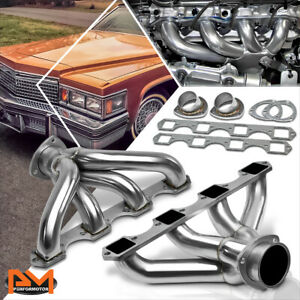 For Cadillac Bbc Big Block 425 472 500 V8 Stainless Steel Racing Exhaust Header