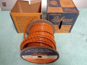 Nos Packard Electric Wire Generator Electrical 12 Gauge 54 Gm Ford Mopar Parts