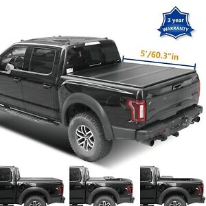 Tonneau Cover Hard Tri fold Truck Bed For 2005 2015 Toyota Tacoma 5 60 3