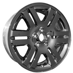 New Replacement 18 Chrome Clad Alloy Wheel Rim For 2006 2010 Ford Explorer