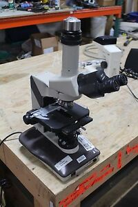Nikon Labophot 2 Microscope 10x 20 Eye Pieces With Objctives