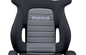 Sparco 00965nrgr Black Grey With Silver Stitch R333 Universal Tuner Race Seat