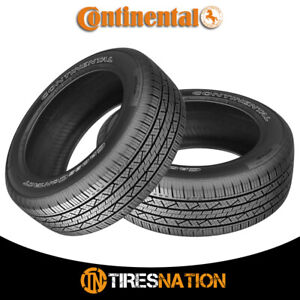 2 New Continental Cross Contact Lx25 245 65r17 107t Fr Owl Tires