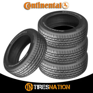 4 New Continental Cross Contact Lx25 245 65r17 107t Fr Owl Tires