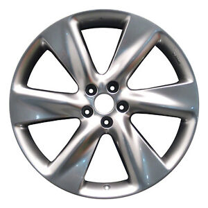 Oem 21x9 5 Alloy Wheel Light Smoked Hypersilver Full Face Painted 560 73715