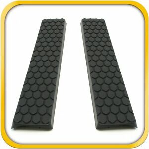 2 Side Step Nerf Bar Replacement Pads For Ovals Fits Dodge ram 1500 09 19 More