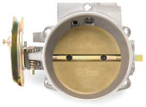 Edelbrock 38640 Throttle Body Left And Right Silver