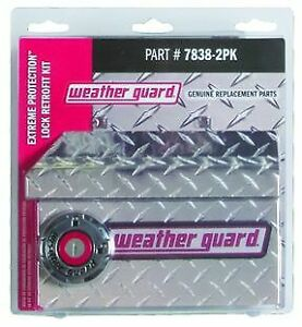 Weatherguard 7838 2pk Tool Box Lock