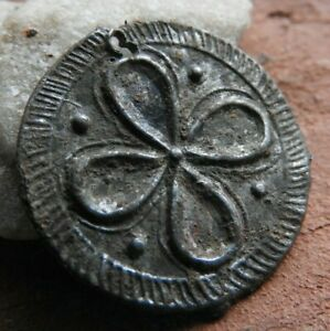 Coin Shaped Pendant With A Drawing Of The Vikings Kievan Rus 10 11 Ad