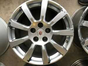 Cadillac Cts 18 Inch Hypersilver Wheel Rim Factory Stock Oem Used 2008 09