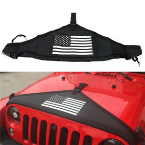 Car Bonnets Front Hood Protector Cover End Bra For Jeep Wrangler Jk 2007 2018