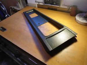 1970 70 Mustang Fastback Oem Mach 1 Original Console Top Plate And Ashtray Lid