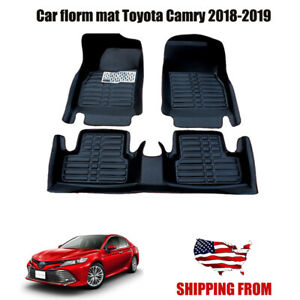 Car Floor Mats Front Rear Liner Waterproof Mat For Toyota Camry 2018 2019 2020