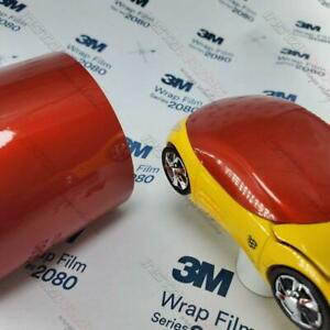 3m Vinyl 1080 Gloss Series Car Wrap Film sample 3in X 5in All Colors