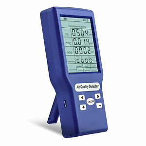 Carbon Dioxide Detector Co2 Ppm Meters Gas Analyzer Protable Air Quality Tester