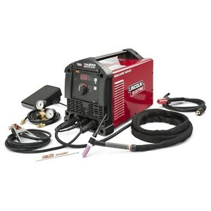 Lincoln Square Wave Tig 200 Welder k5126 1 Refurbished 3 Year Warranty