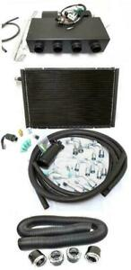 Universal Underdash Ac Heat Cool Air Conditioning Evaporator Kit W Vents Hoses