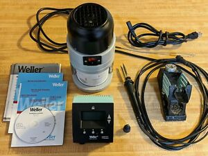 Weller Soldering Rework Station Wd 1m Power Supply Fume Extractor Wfe2p Iron