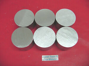 6 Pieces 3 Od Aluminum 6061 Round Rod 1 2 Long T6511 Solid Lathe Bar Stock