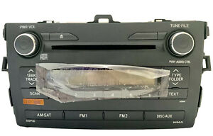 New Toyota Corolla Stock Radio Player 2009 2010 86120 02a90 Oem