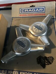 Cragar S S Tribar Center Caps Vintage