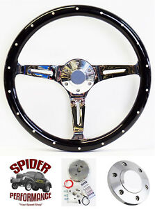 1965 1969 Fairlane Ranchero Galaxie 500 Galaxie Steering Wheel 14 Dark Mahogany