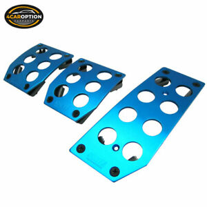 Universal Nokya Racing Sport Blue Pedals Pads Cover Mt M T Manual Transmission