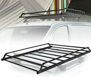 Universal Roof Rack Cargo Carrier Car Suv Van Top Luggage Holder Travel 48 Inch