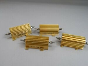 Mix Lot Of 4 Dale Pacific 250chn 250w 3 33 Ohm 150w 8 Ohm Resistors