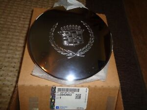 Oem Gm 3543663 Cadillac Deville Wheel Center Cap Chrome 92 93 94 95 96 97 98 99