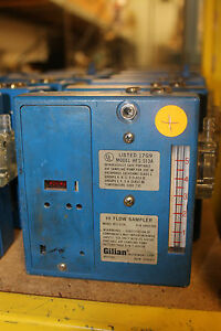 Gilian Hi flow Air Sampler Hfs 513a Blue