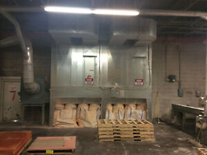 Dantherm Model Nfp 4h closed Dust Collector