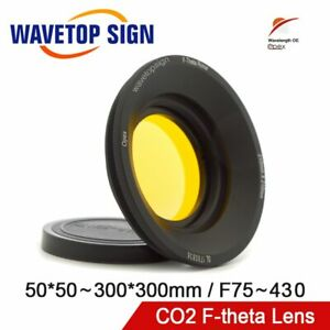 Opex Co2 F theta Scan Lens Field Lens For Optical Co2 Laser Marking Machine Part