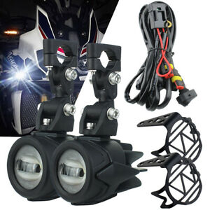 Kit For Bmw R1200gs F800gs F700gs Motorcycle Led Front Fog Lights Auxiliary Lamp