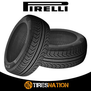 2 New Pirelli P4 Four Seasons Plus 205 55r16 91y All season Touring Tires