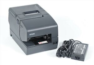 Epson Tm h6000iv Pos Thermal Usb Network Receipt Printer M253a With Adapter