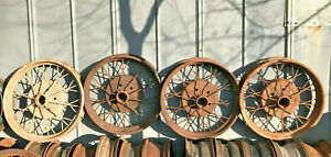 1928 1929 Ford Model A Oem 21 Inch Wheel Rims Set Of 4 Solid Used Cores Fomocod
