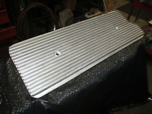 Buick Nailhead Valley Cover Pan Aluminum Finned 264 322 364 401 425 Hot Rod