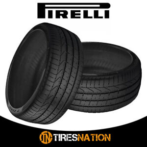 2 New Pirelli Pzero 245 40r18 97y Summer Sports Performance Traction Tires