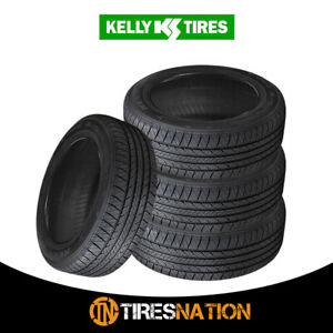 4 New Kelly Edge A s 205 55r16 91h All season Traction Tire