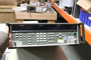 Fluke 6060a Syntesized Signal Generator Working