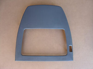 97 99 Trans Am Front Leather Seat Rear Panel Med Gray Rh Passenger