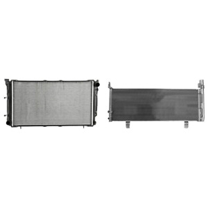 Radiator A c Condenser Kit For 2012 2017 Toyota Camry