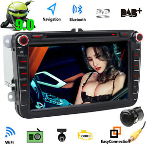 Cam foiioe Android 9 0 8 car Stereo Gps Radio Dvd Player Audio For Volkswagen Vw
