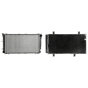 Radiator A c Condenser Kit For 2010 2011 Toyota Camry