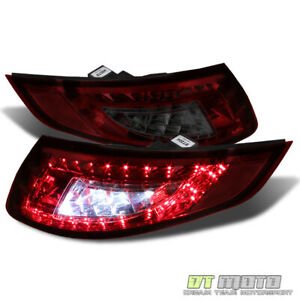 2005 2008 Porsche 911 997 Carrera 4 S 4s Led Red Smoke Tail Lights Lamps