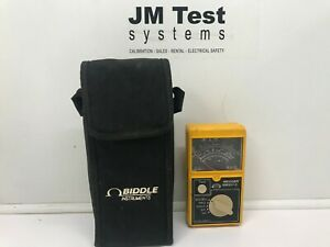 Biddle Insulation continuity Tester Bm 101 2 Br