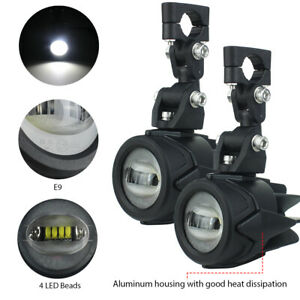 2pcs 40w Led Motorcycle Auxiliary Fog Light Driving Lamp For Bmw R1200gs F800gs