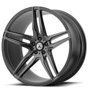 4ea 19 Asanti Wheels Abl 12 Orion Matte Graphite Rims s11