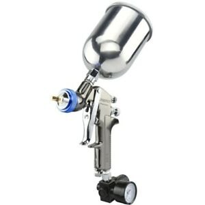 Neiko 1 3mm 600 Cc Aluminum Cup Hvlp Gravity Feed Air Spray Gun Pro Painting